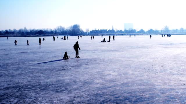 Fun on the ice (1080p) video
