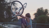 Fun with bicycles video