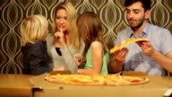 fun with eating pizzza video