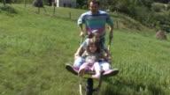 Fun with wheelbarrow video