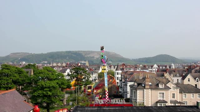 Funfair Fairground ride video
