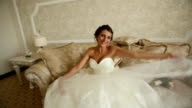 Funny Cheerful Bride video