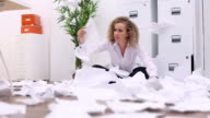 Funny office paperwork video