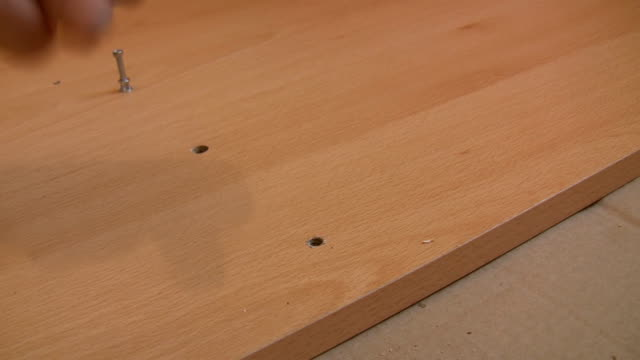 Furniture assembly video