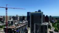 Future Of Austin Expanding Skyline Construction of New Skyscraper video