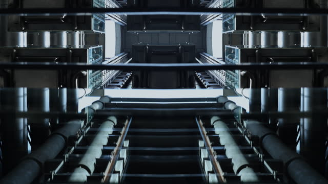Futuristic Building Elevators video