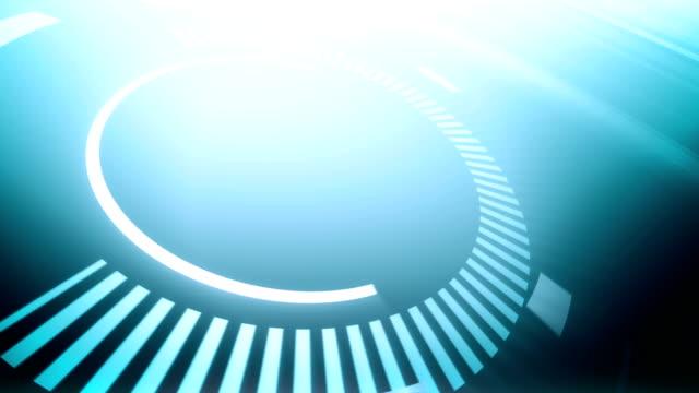 Futuristic Circles - Background Loop video