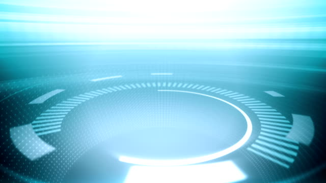Futuristic Circles (Transition In) - Background Loop video