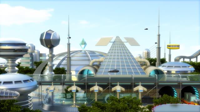 Futuristic city (HDTV version) video