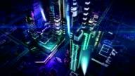 Futuristic City video