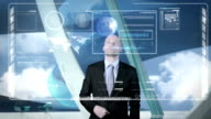 Futuristic Computer Panel video