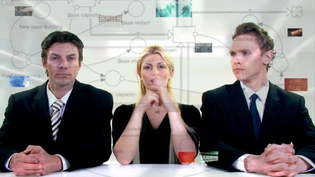 Futuristic desktop video