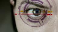 Futuristic Female Cyborg video