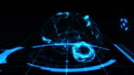 Futuristic Human Brain Animation video