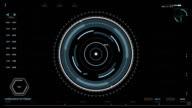 Futuristic interface tracking radar system video