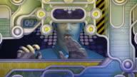 Futuristic Sci-Fi Telecom video