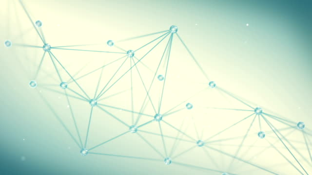 futuristic techno shape polygon background loop video