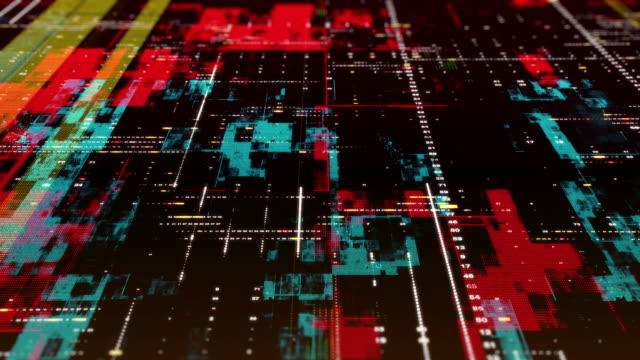 Futuristic Technological Background video