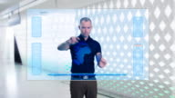 Futuristic Touch Screen video