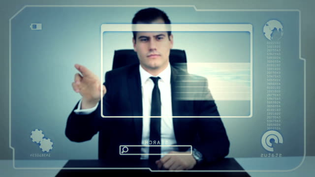 Futuristic Touch Screen video