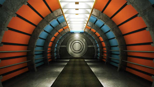 Futuristic Tunnel HD1080p video