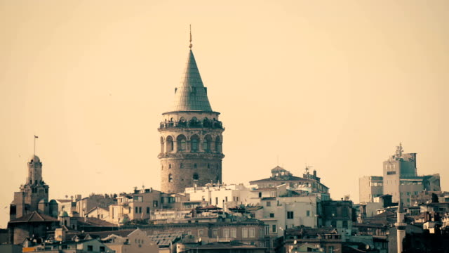 Galata Tower, Istanbul, Turkey video