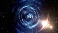 Galaxy, Nebula Space Background. video