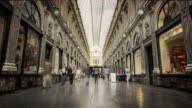Galeries Royales Saint-Hubert, Brussels, Belgium video