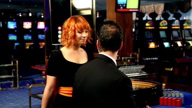 HD WIDE: Gambling in casino video