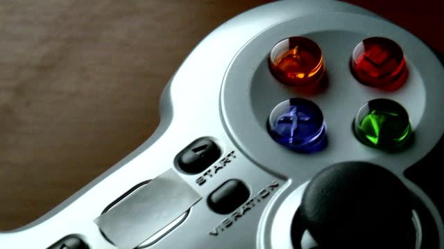 Game controller clousup video