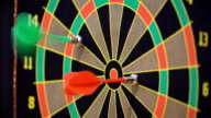 Game of Darts. FullHD video