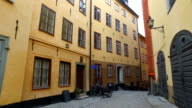 Gamla Stan,The Old Town In Stockholm video