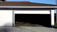 Garage door closing video