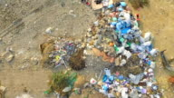 AERIAL VIEW. Garbage dumps video