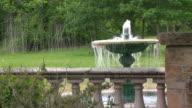garden fountain video