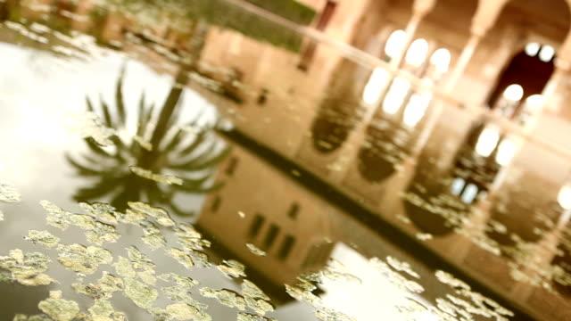 Garden in Alhambra Palast video