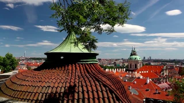 Garden of Paradise near Prague Castle video