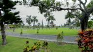 Gardens water temple in Bali video