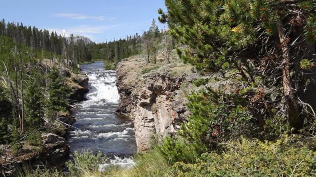 Gardner River waterfall video