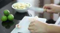 Garlic Cutting video