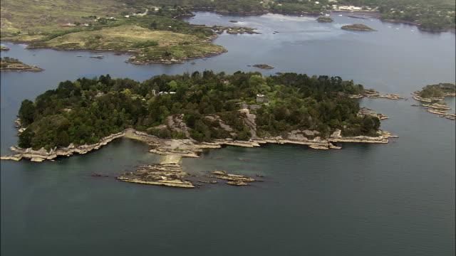 Garnish Island - Aerial View - Munster,  Cork,  helicopter filming,  aerial video,  cineflex,  establishing shot,  Ireland video