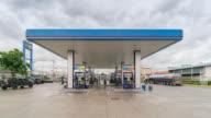 Gas station service, Tilt down video