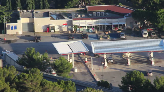 Gas Station Time Lapse video