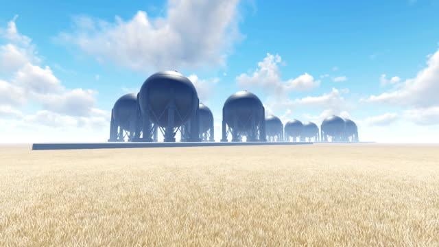 Gas Storage Refinery video