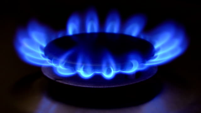 Gas Stove - Close up (HD 1080) video