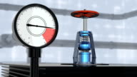 Gas tap with manometer video