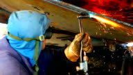 Gas welding machines video