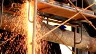 HD: Gas welding video