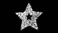 FROM STAR - gate, inflow-outflow, black (LOOP) video