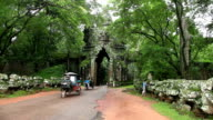 Gate of Angkor Thom video